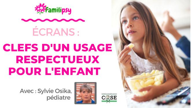 Ecrans - Clefs d'un usage serein et respectueux - WEBCONFÉRENCE (Replay)