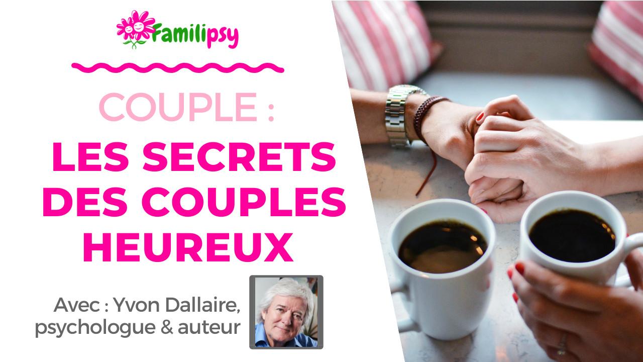 Couple : les secrets des couples heureux - WEBCONFÉRENCE (Replay)