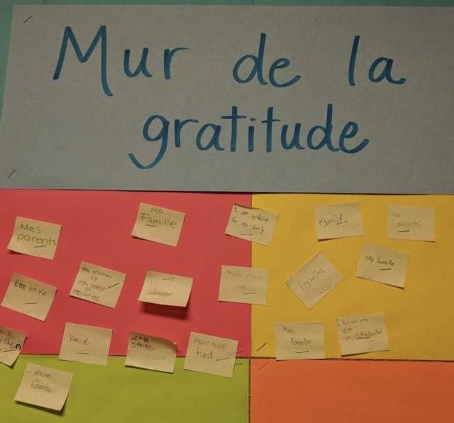 mur de la gratitude