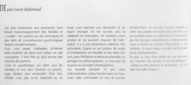 Nathalie Colin-Fagotin -  Familipsy - entreprenariat social