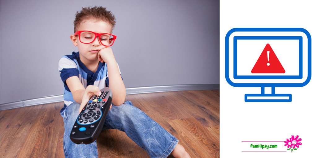 Les dangers de la télé pour les enfants