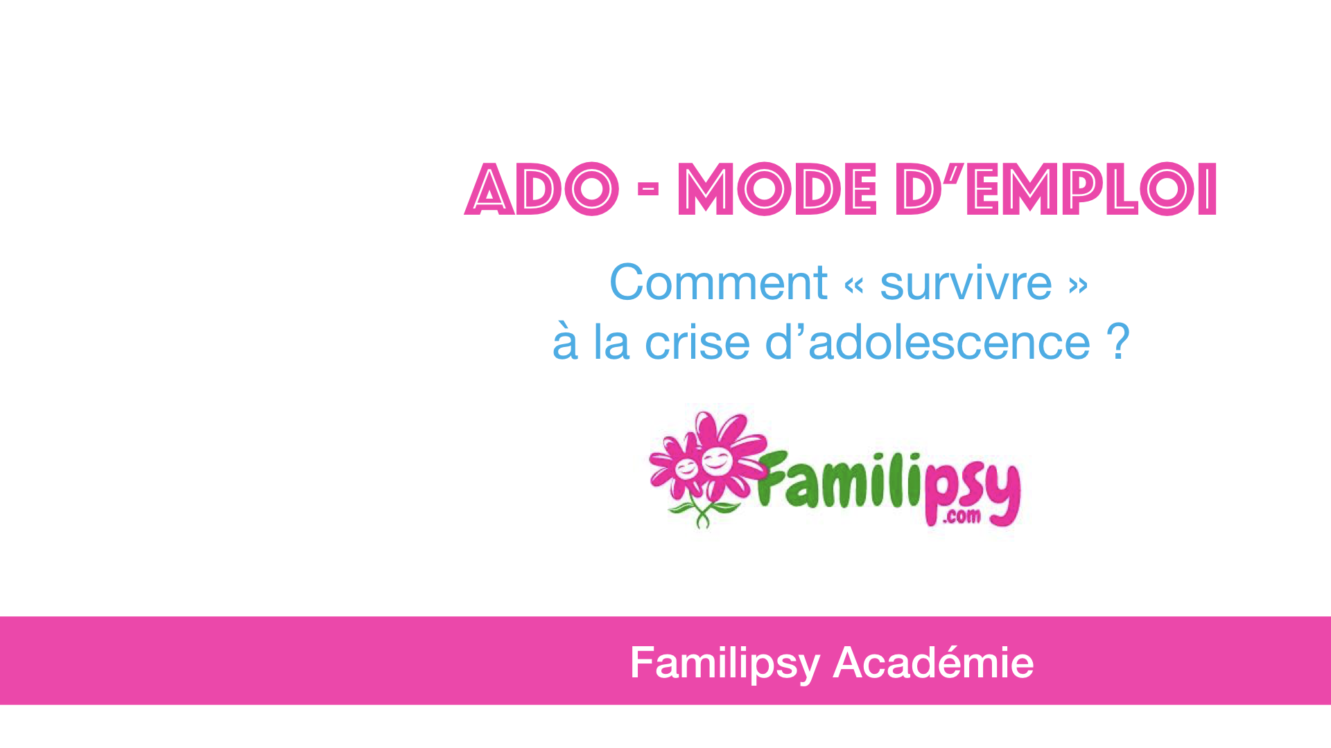 crise d'adolescence psychologie familipsy