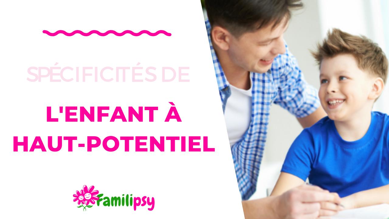 Vivre le haut potentiel au quotidien - Atelier-parent >