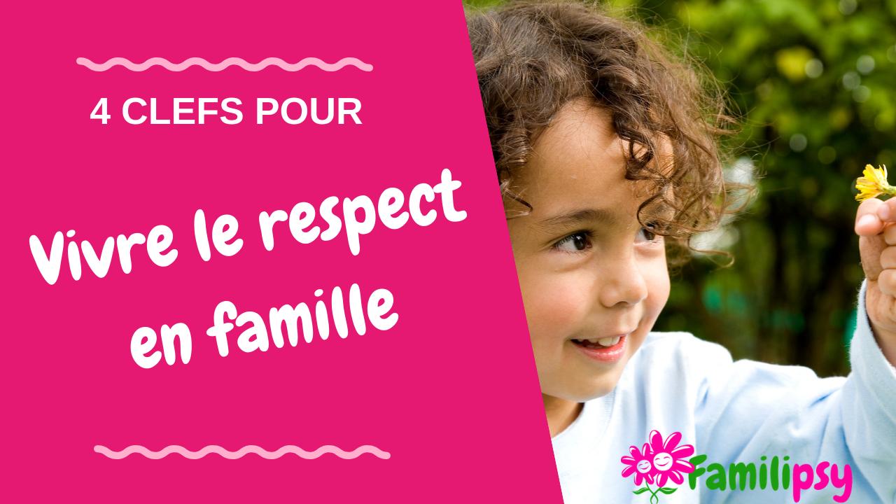 eduquer au respect en famille - charte