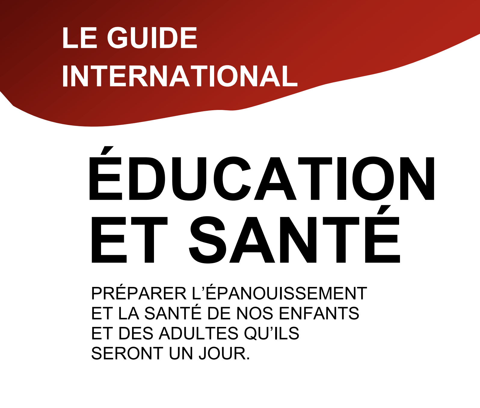 Guide education santé enfants parents