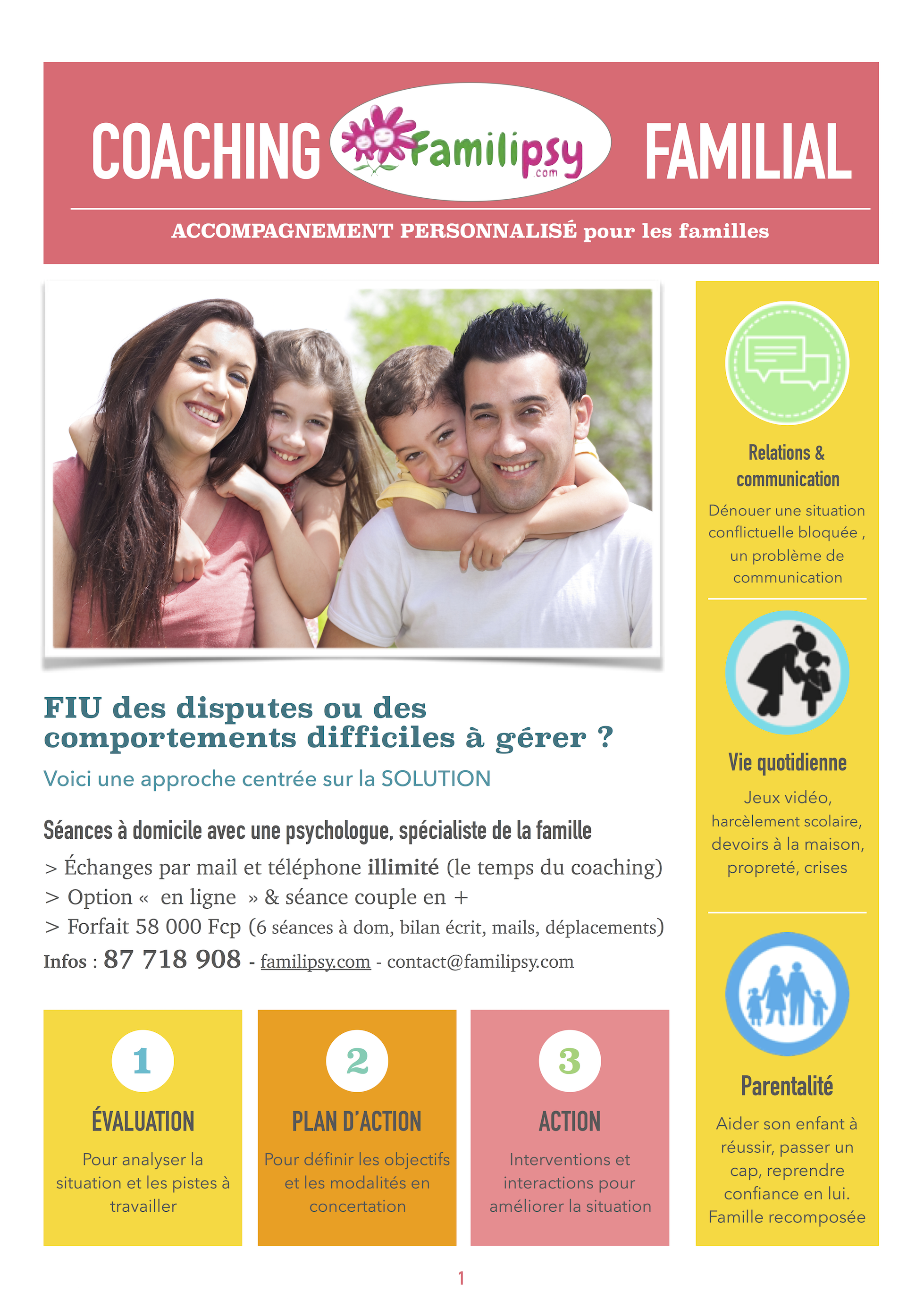 COACHING FAMILIAL PERSONNALISE
