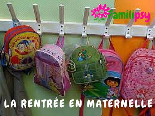 5 conseils pour bien préparer l'entrée en maternelle