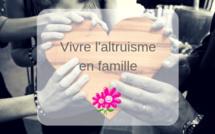 Des idées pour vivre l'altruisme en famille