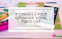 8 conseils pour optimiser votre Todolist et diminuer la charge mentale